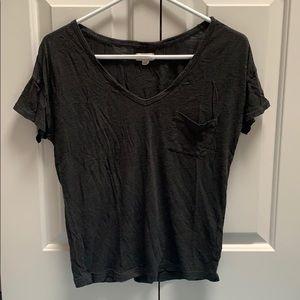 Aerie Black Basics T-shirt